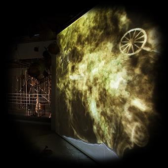 Rappresentazione multimediale del vulcano del Monte Amiata