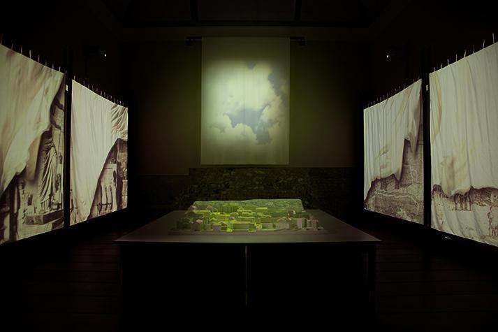 Ambiente multimediale del Parco Archeologico di Brescia