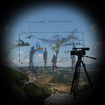 Progetto dello scenario interattivo per il Museo Multimediale della Memoria del Terremoto, con telecamera