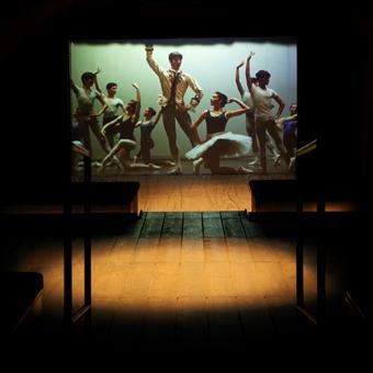 Allestimento multimediale con immagini del balletto per il Museo e Archivio Storico del Teatro di San Carlo