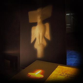Allestimento multimediale per il museo dedicato all'arcangelo Michele