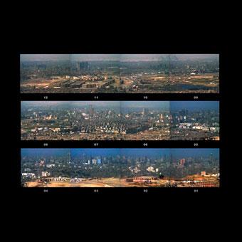 Skyline di grandi metropoli