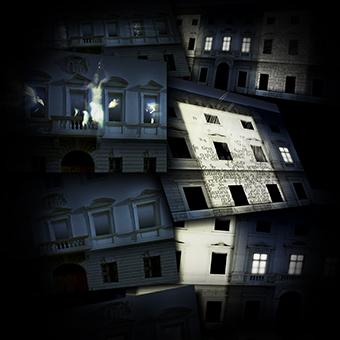 Progetto di proiezioni video sulle facciate dei palazzi di Rovereto