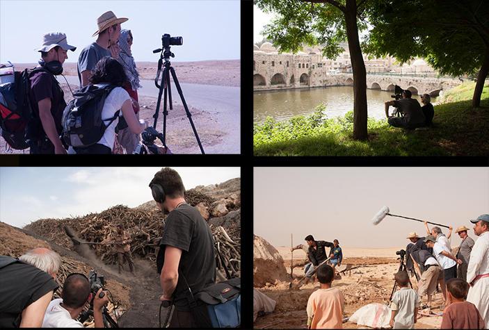 Riprese video di Studio Azzurro nei paesi del Mediterraneo