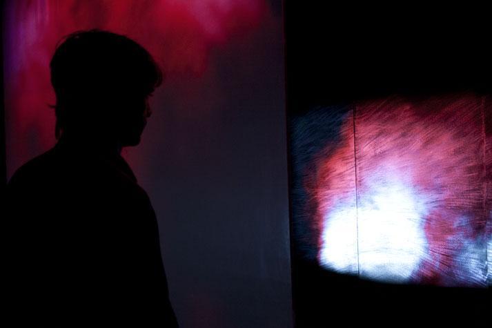 Variazioni Magenta, installazione di Studio Azzurro
