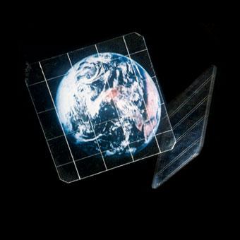 La Terra vistra dallo spazio