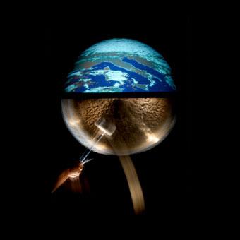 Proiezioni di immagini provenienti dal satellite Meteosat