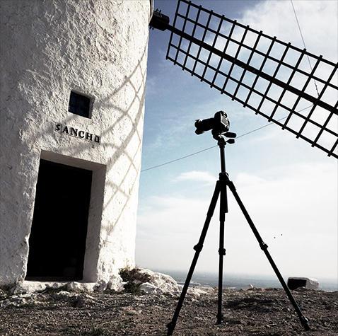 Riprese di Studio Azzurro nel territorio della Mancha per Rivelazioni Mediterraneo