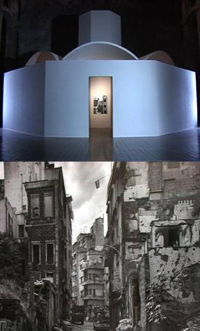 Installazione di Bruno Vaerini e Gabriele Basilico