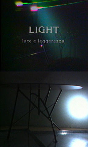 Luce. Sperimentazioni di design