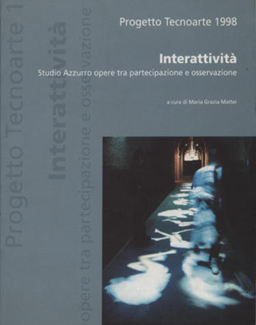 Copertina del volume Interattività. Studio Azzurro, opere tra partecipazione e osservazione