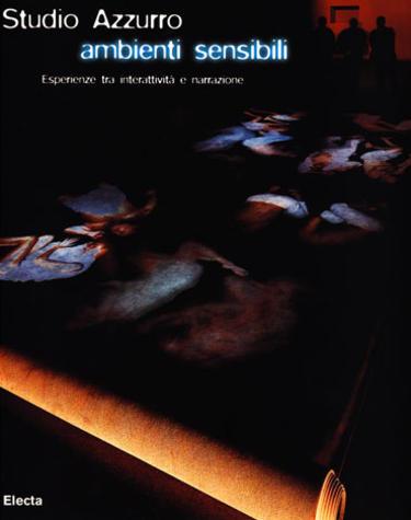 Copertina del volume Studio Azzurro - ambienti sensibili