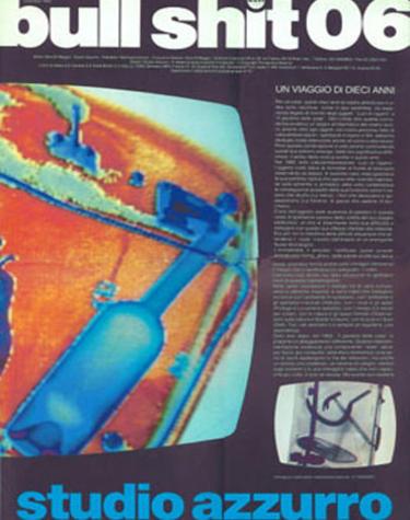 Copertina del volume Bull shit 06 - Studio Azzurro, videoambienti