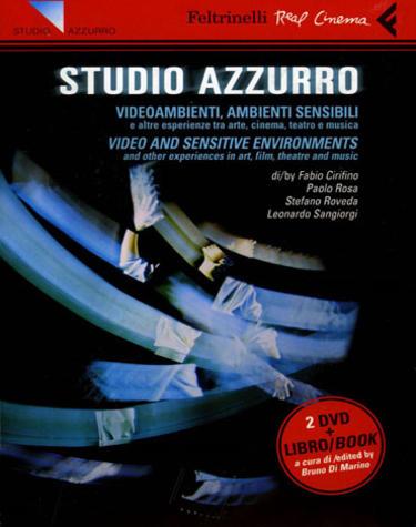 Copertina di Studio Azzurro. Videoambienti, ambienti sensibili